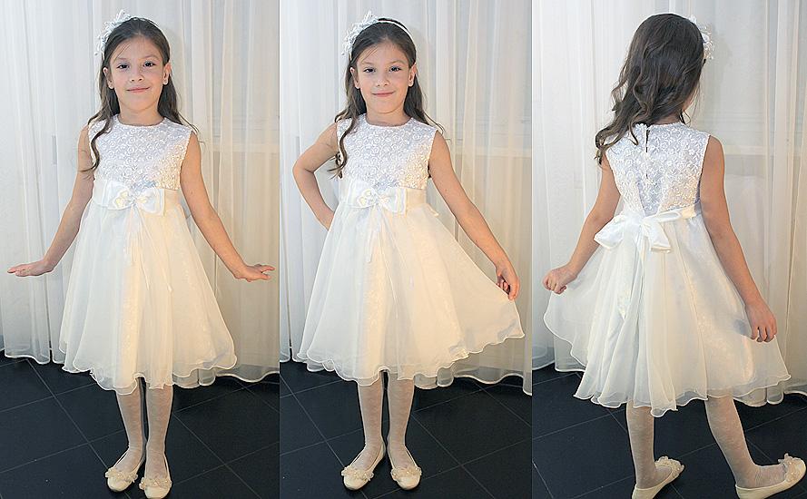Б у нарядные платья на девочку